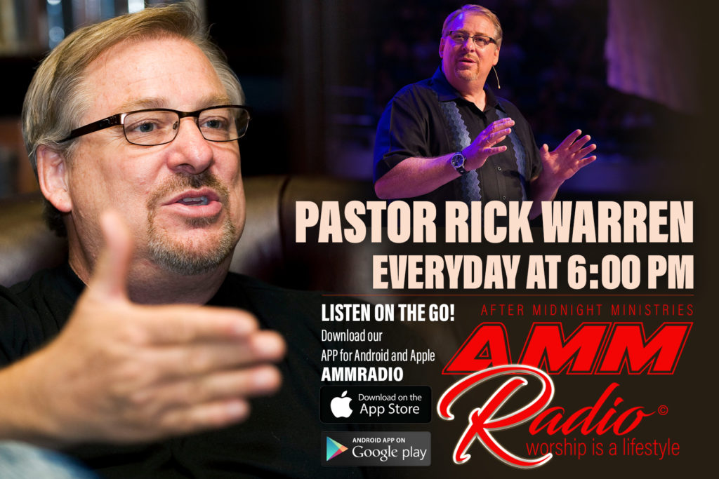 AMMRADIO Rick Warren fl